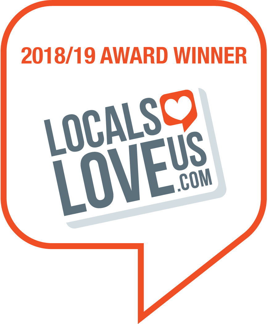 2018/19 Locals Love Us Award Winner